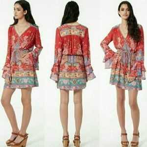 Spell & The Gypsy Collective Dresses - Spell designs lotus playdress ruby M mini dress